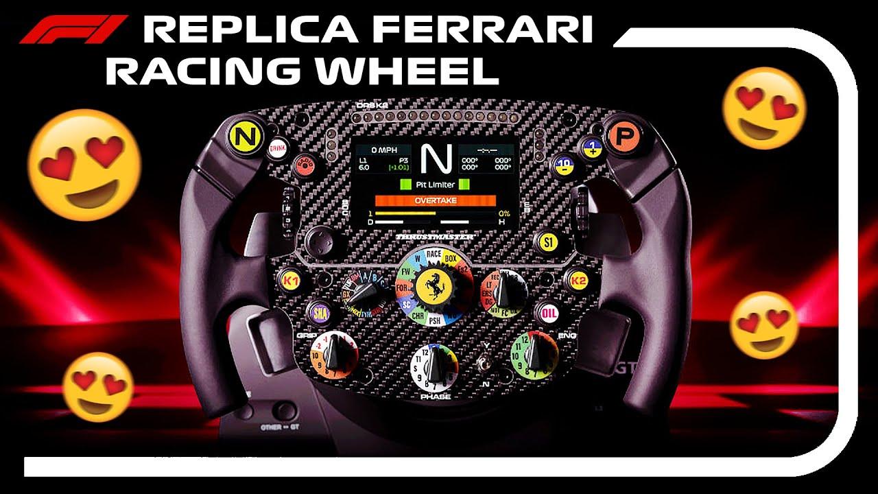 MY NEW F1 REPLICA RACING WHEEL SETUP! - Thrustmaster Ferrari SF1000 Formula Wheel Add-On Rim (TS-PC)