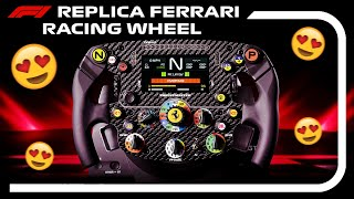 MY NEW F1 REPLICA RACING WHEEL SETUP! - Thrustmaster Ferrari SF1000 Formula Wheel Add-On Rim (TS-PC)