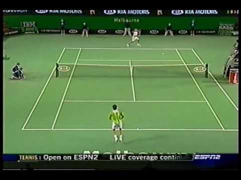 Haas vs Federer Australian Open 2006 Highlights