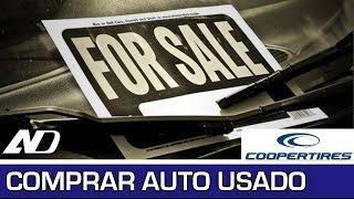 ¿Cómo comprar un auto usado? - Cooper Consejos en AutoDinámico