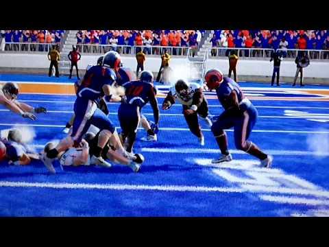 Blue Mountain State NCAA FOOTBALL Dynasty: Game 10, Season 1 Thad Castle TD