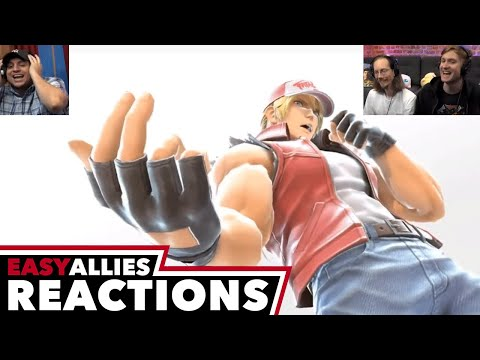 Super Smash Bros. Ultimate - Terry Bogard and More - Easy Allies Reactions