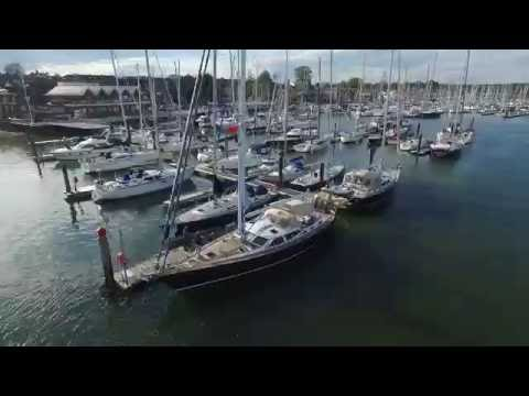 Discovery Yachts at the Prince Philip Yacht Haven