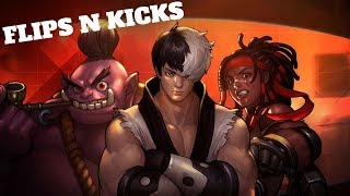 FLIPS N KICKS - Hyper Universe (PC) Live Stream and More