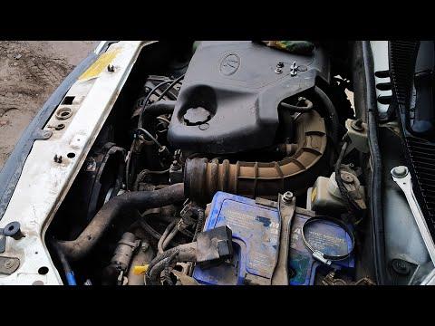 Лучший способ замены радиатора охлаждения на ВАЗ Калина. ДЕМОНТАЖ, снятие с авто...