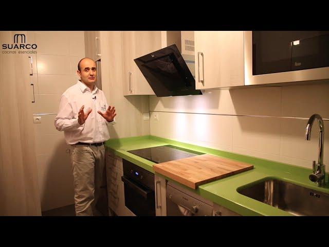 Videos muebles de cocinas pequeñas modernas color madera y ...