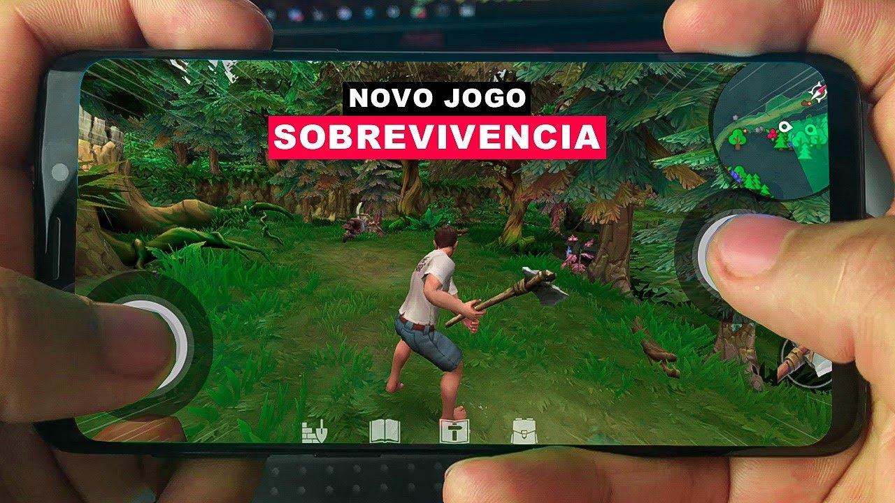 Saiu NOVO INCRIVEL JOGO DE SOBREVIVENCIA PARA ANDROID