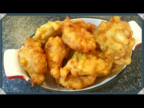 Corn Fritters Recipe/How To Make Corn Fritters