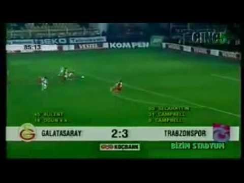 Galatasaray 3-5 Trabzonspor   Efsane Maçlar