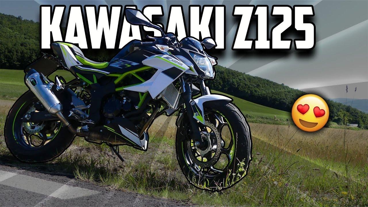 Kawasaki Z125 2019   Una naked divertente e ben curata   Test Ride