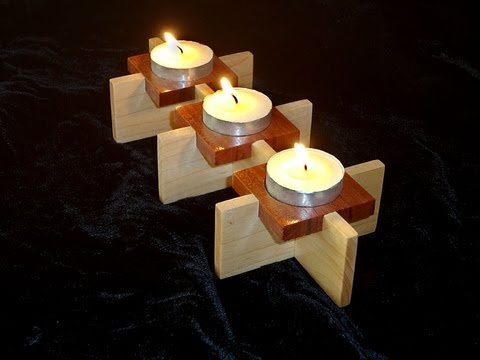 Candle holder - YouTube