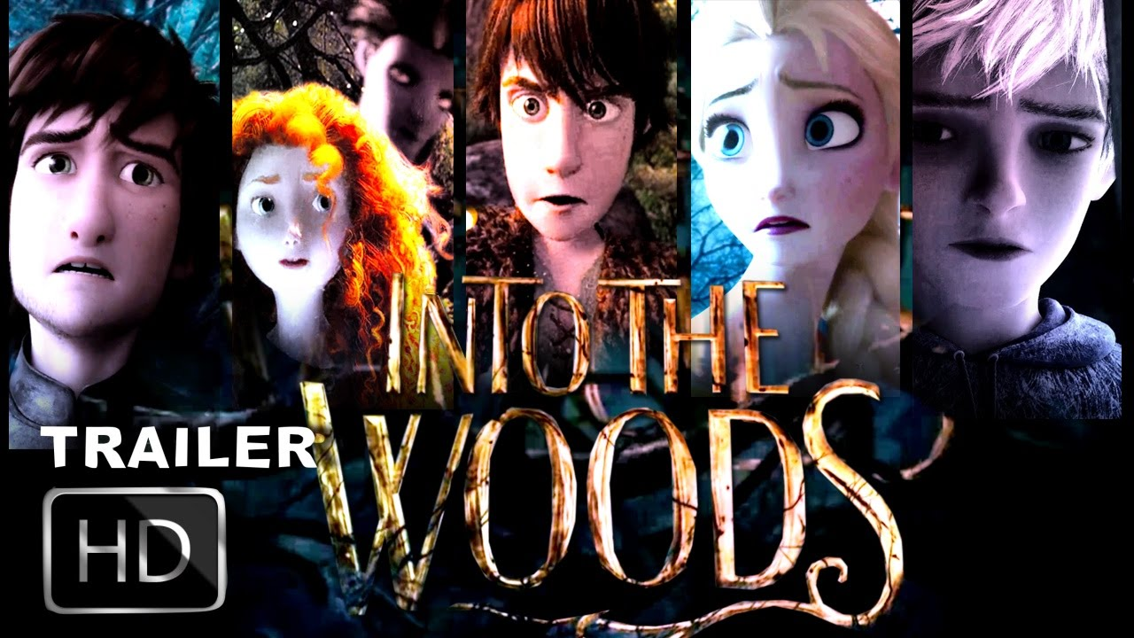 Into The Woods 2014 Animated Cgi Trailer Hd Youtube