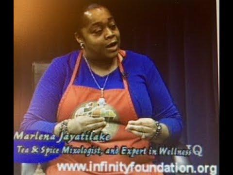 Marlena Jayatilake on Inner Quest TV produced by Infinity Foundation Highland Park, IL