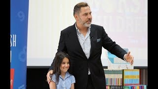 David Walliams announces the Young Writer of the Year 2018