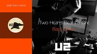 U2 Two Hearts Beat as One Bass Cover + Tabs daniB5000