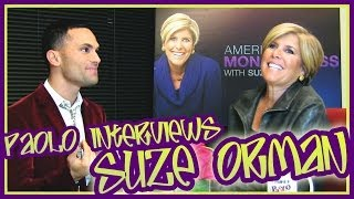 Suze Orman Gives Great Advice!