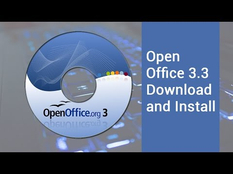 Open Office 3.3 Download And Install | Video Tutorial By TechyV