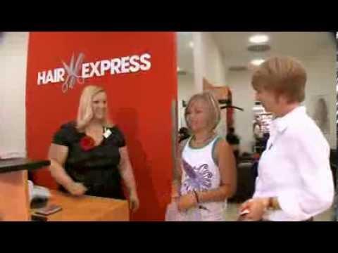 Besuch in einem HairExpress Friseursalon