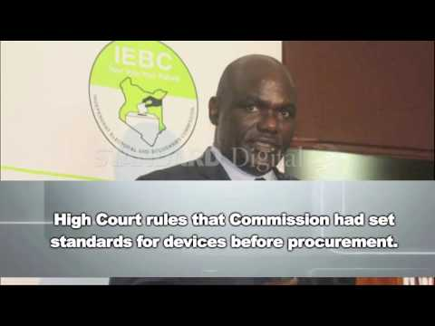 It's a win for IEBC as High Court rules on Elections Management System