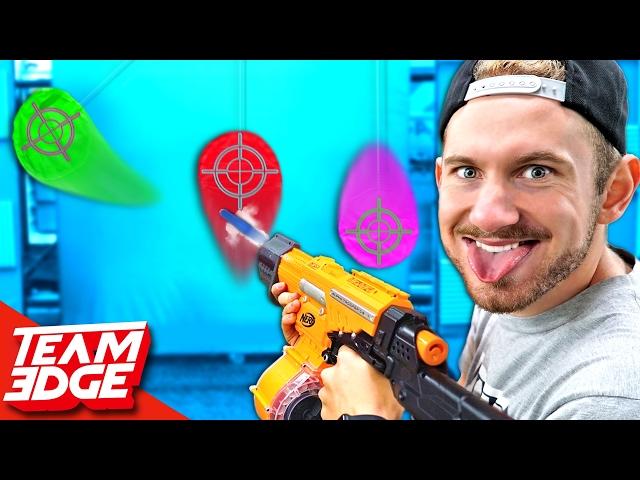 NERF Marksman Challenge!!