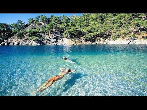 TURKEY Datça -2016  FAST WALKİNG TOUR The Most Beautiful Places To Visit  HD TOUR