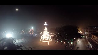 Tagum city, Fireworks Display 2015 Aerial video by Norman Adlawan
