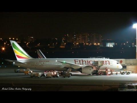 ET-AOR Ethiopian Airlines Boeing 787-8 Dreamliner First Time TLV LLBG | Canon SX40 HS