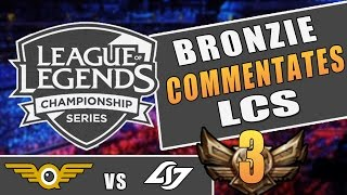 If a Bronzie Commentated LCS #3 | CLG vs FlyQuest