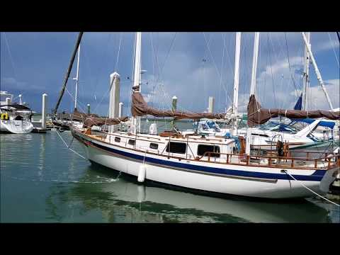 1978 Tayana 37 Ketch Cutter for sale by Edwards Yacht Sales
