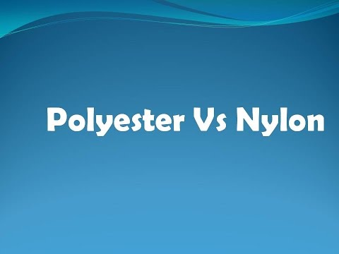 Difference between Nylon and Polyester -  Polyester VS Nylon