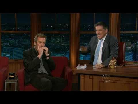 Hugh Laurie Wins Craig Ferguson Mouth Organ