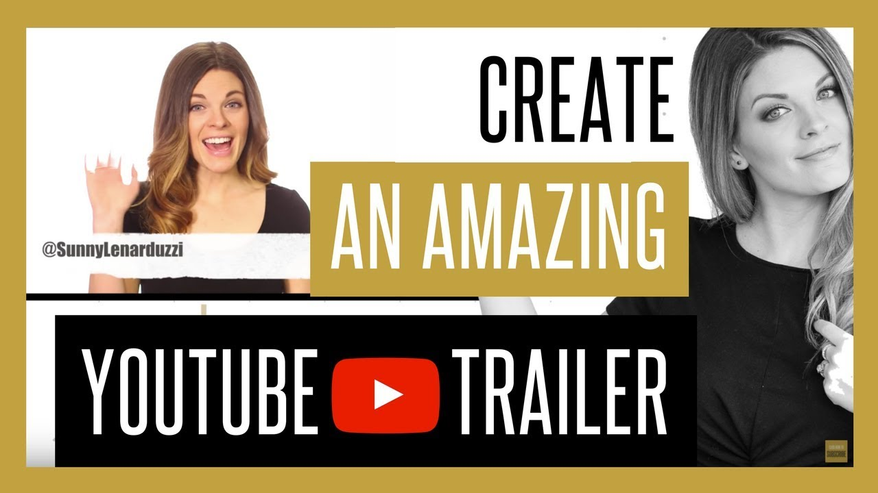make a channel trailer online free