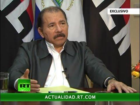 Entrevista exclusiva de RT al presidente de Nicaragua, Daniel Ortega
