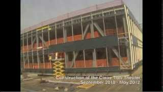 Time-lapse of the Claire Tow Theater under construction