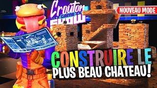 Votez pour le meilleur Château ! Build Battle sur Fortnite Créatif avec la Team Croûton