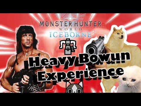 [Góc nhảm nhí] HEAVY BOWGUN EXPERIENCE!!!!  Monster Hunter World Iceborne Funny