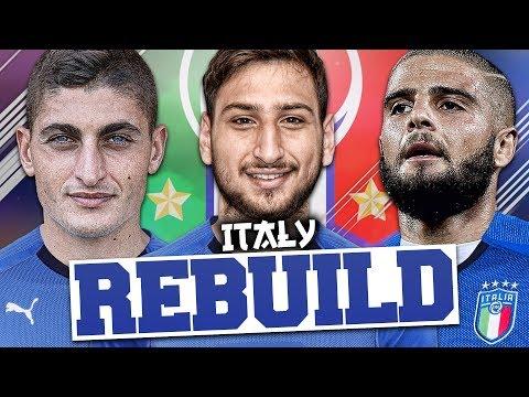 Thumbnail: REBUILDING ITALY!!! FIFA 18 Career Mode (WORLD CUP!)