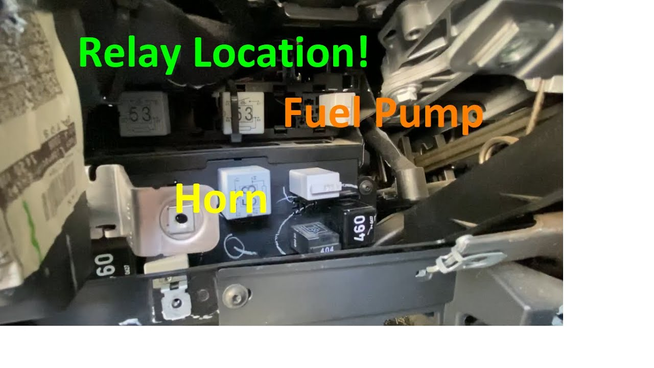 Fuel Pump Relay Location MK5 Jetta TDI VW Volkswagen 2005.5 2006 2007 2008  2009 2010 2011 - YouTubeYouTube