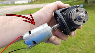 Angle Grinder Hack! Don't Throw Away the old Angle Grinder!