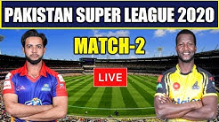 🔴 Watch Live Cricket Match Today Karachi Kings Vs Peshawar Zalmi 2nd Match PSL 2020