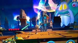Energon Grimlock VS UNICRON!! -  Angry Birds Transformers #20