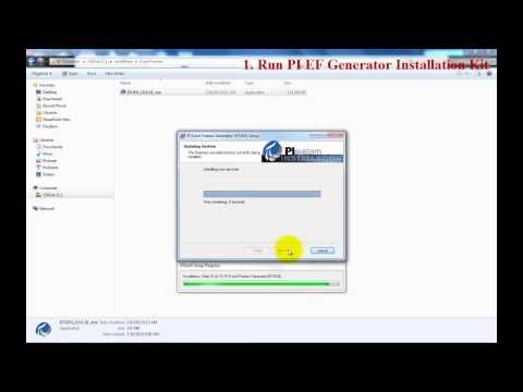 OSIsoft: Install PI Events Frames Generator (PI EFGen v3.0.0.x)
