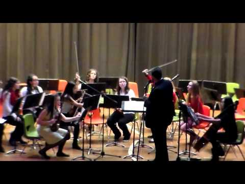 Gilmore Middle School - Chamber Orchestra Holiday Concert (12/16/2014)
