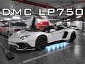 Lamborghini Aventador Carbon Fiber Front Hood and LP750 SV Bumper Facelift by DMC