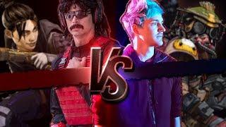 DrDisrespect Versus Ninja  | k Code Red Tournament