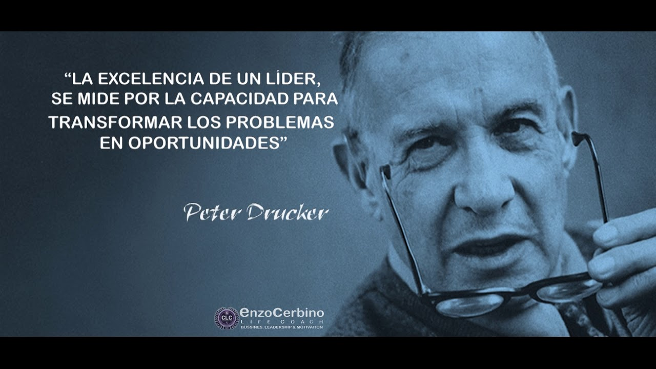 El Liderazgo Peter Drucker