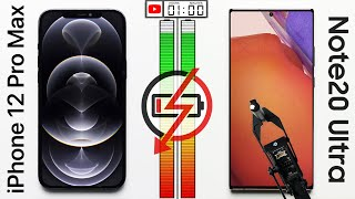 iPhone 12 Pro Max vs. Galaxy Note20 Ultra Battery Test