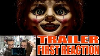 ASUSTANDO A MI MUJER (2): ANNABELLE 2 TRAILER FIRST REACTION