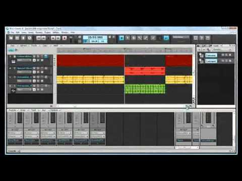 cakewalk music creator 6 plain  not touch version  automation and other stuff