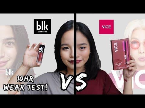 VICE VS. BLK COSMETICS! Anong mas okay?| Wear Test + Review